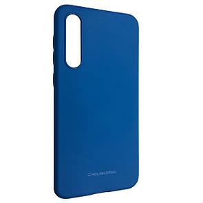 Чехол-накладка силикон Hana Molan Cano для Xiaomi Mi 9 (blue)