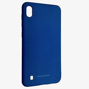 Чехол-накладка силикон Hana Molan Cano для Samsung A10 (blue)