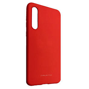 Чехол-накладка Silicone Hana Molan Cano для Samsung A70 (red)