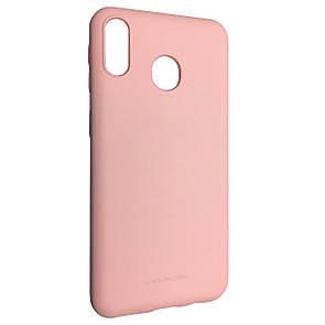 Чехол Silicone Hana Molan Cano Samsung A40 (pink)