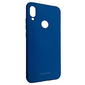 Чехол-накладка Silicone Hana Molan Cano для Xiaomi Mi Play (blue)