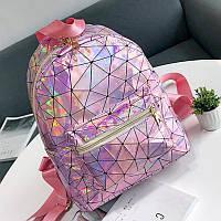 Женский рюкзак галограмный блестящая Агата , фото 1