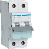 Автоматический выключатель In=25 А, 2п, В, 6 kA, 2м Hager (MB225A), фото 1