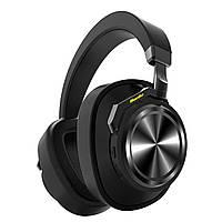 ★Bluetooth гарнитура Bluedio T6 Black беспроводные наушники с микрофоном подвижное крепление амбушюр
