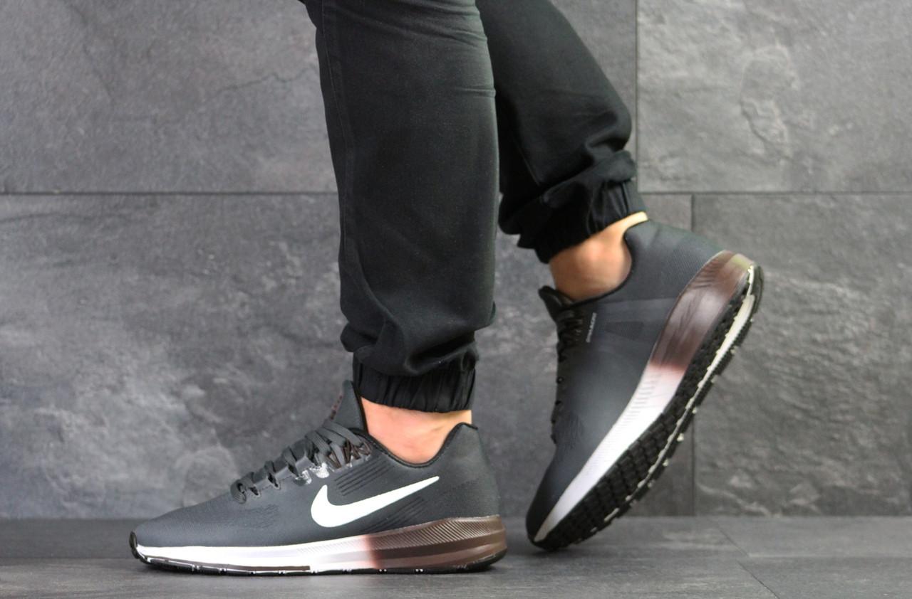 Мужские кроссовки Nike Air Zoom Structure 21 (серые)