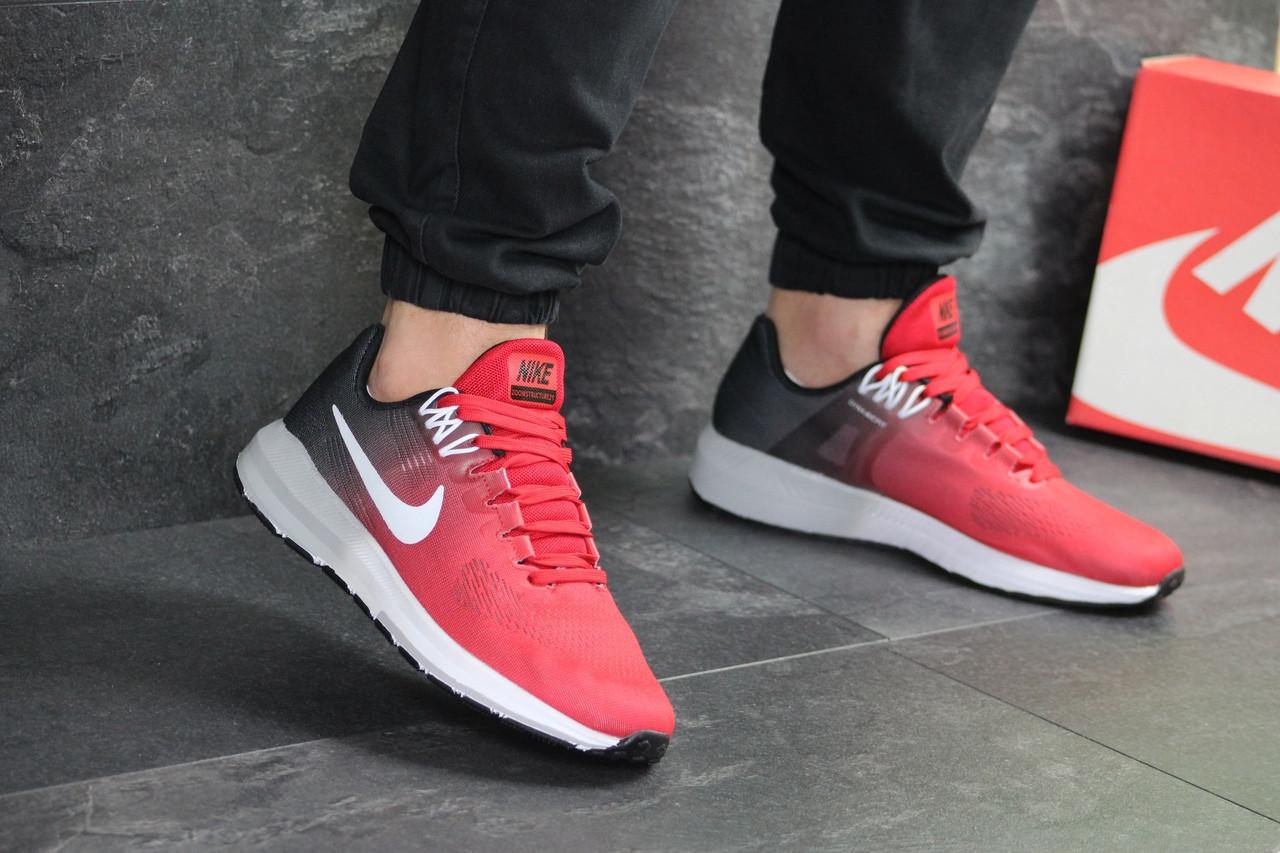 Чоловічі кросівки Nike Air Zoom Structure 21 (червоні)