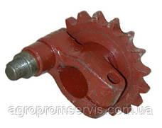 Кривошип эксцентрик Z-20 t-19.05 привода косы со звездочкой (под 206 подш.) Н.069.02.040-02, фото 2