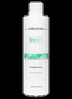 Очищающий тоник с лемонграссом для жирной кожи Fresh Purifying Toner oily skin with Lemongrass, 300 мл, фото 1