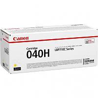 Картридж Canon 040H LBP710/712 Yellow