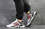 Мужские кроссовки Adidas Equipment 91/18 (бело-красные), фото 2