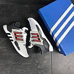 Мужские кроссовки Adidas Equipment 91/18 (бело-красные), фото 3