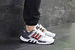 Мужские кроссовки Adidas Equipment 91/18 (бело-красные), фото 5
