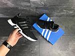 Чоловічі кросівки Adidas Equipment 91/18 (чорно-білі), фото 2
