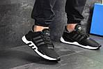 Чоловічі кросівки Adidas Equipment 91/18 (чорно-білі), фото 5