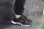 Чоловічі кросівки Adidas Equipment 91/18 (чорно-білі), фото 6