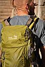 Рюкзак туристический New Outlander 40 литров ручная кладь -зеленый(AV 1205), фото 5