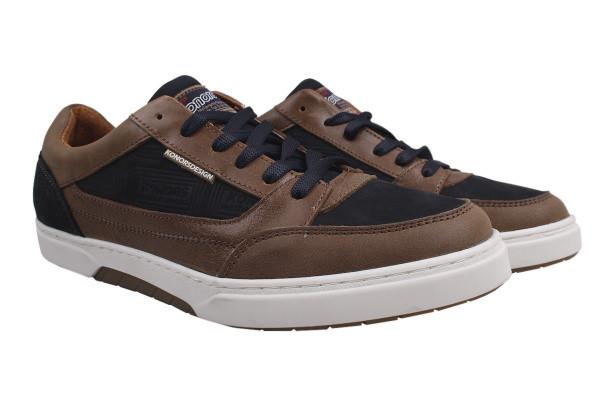 Туфли комфорт Konors натуральная кожа, цвет коричневый