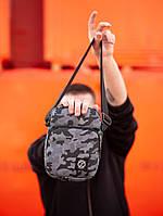 Мужская сумка на плече beZet GRAND CAMO GREY '19