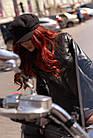 Куртка Кожаная Шанель - Воротник Пояс 001ДЛ, фото 10