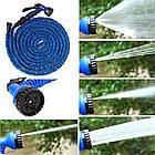 Садовый шланг гармошкой для полива с распылителем гибкий легкий X-HOSE  7.5 метров ОПТ, фото 6