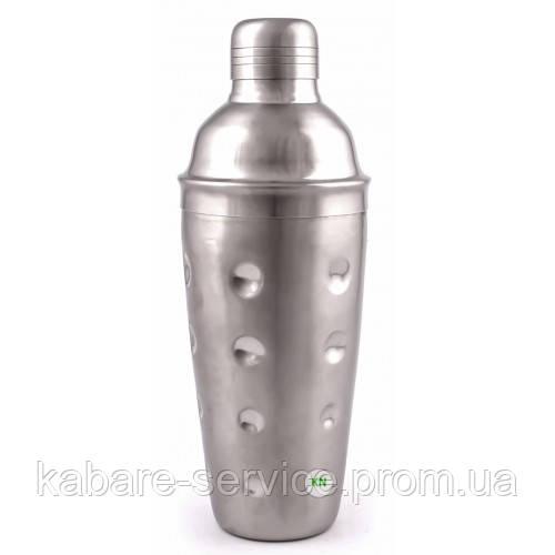 """Шейкер """"Кобблер"""" 0.7 л (нержавеющая сталь) Co-Rect"""