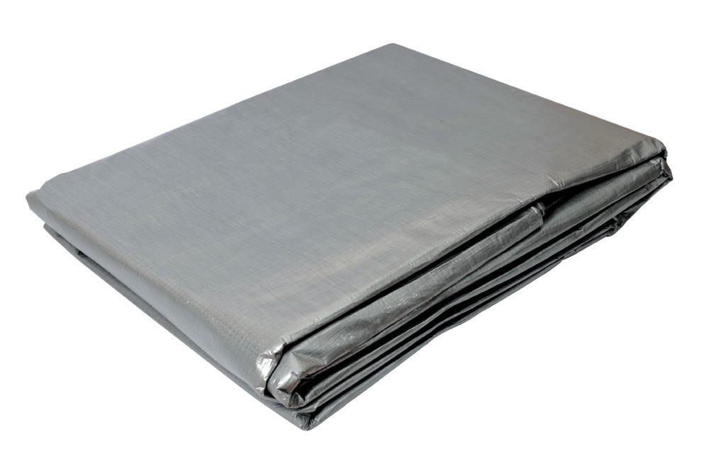 Тент Mastertool 6х8 м 110 г/м² Серебристый (79-7608)