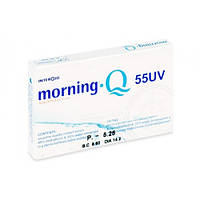 Контактная линза Morning Q55 UV (1 месяц )