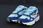 Женские кроссовки Adidas Falcon (разноцветные), фото 3