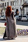 Жилетка В Пол Из Меха Чернобурки 0174Ж, фото 4