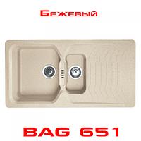 Мойка Franke BAG 651, бежевый