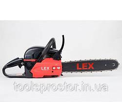 Бензопила LEX YD-KW02-45 : 2 режущие цепи | 52 см3