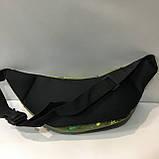 Спортивные сумки на пояс Nike (черно-серый принт)14*37см , фото 5