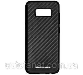 Оригинальный чехол для Samsung Galaxy S8 Mercedes-AMG Carbon Cover for Samsung Galaxy S8, Black (B66953704)