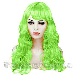Парик Волнистый (зеленый) 60см