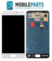 Дисплей для телефона Meizu Pro 6 (M570) | Pro 6s с сенсорным стеклом (Белый) Оригинал Китай