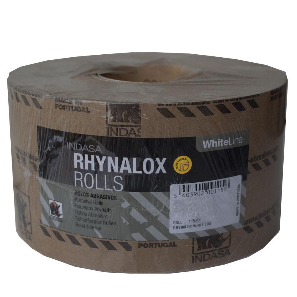 Наждачная бумага в рулоне INDASA 115мм. Р-180