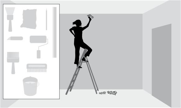 Инструкция по поклейке флизелиновых обоев
