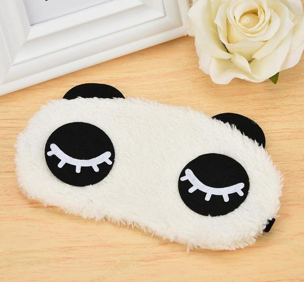 Маска на обличчя для сну Панда