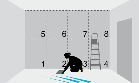Инструкция по поклейке флизелиновых обоев 2