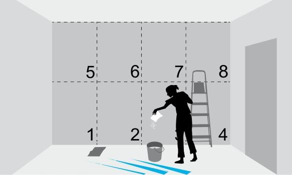 Инструкция по поклейке флизелиновых обоев 3