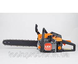 Бензопила LEX LXGCS60 : 2 режущие цепи | Гарантия 1 год