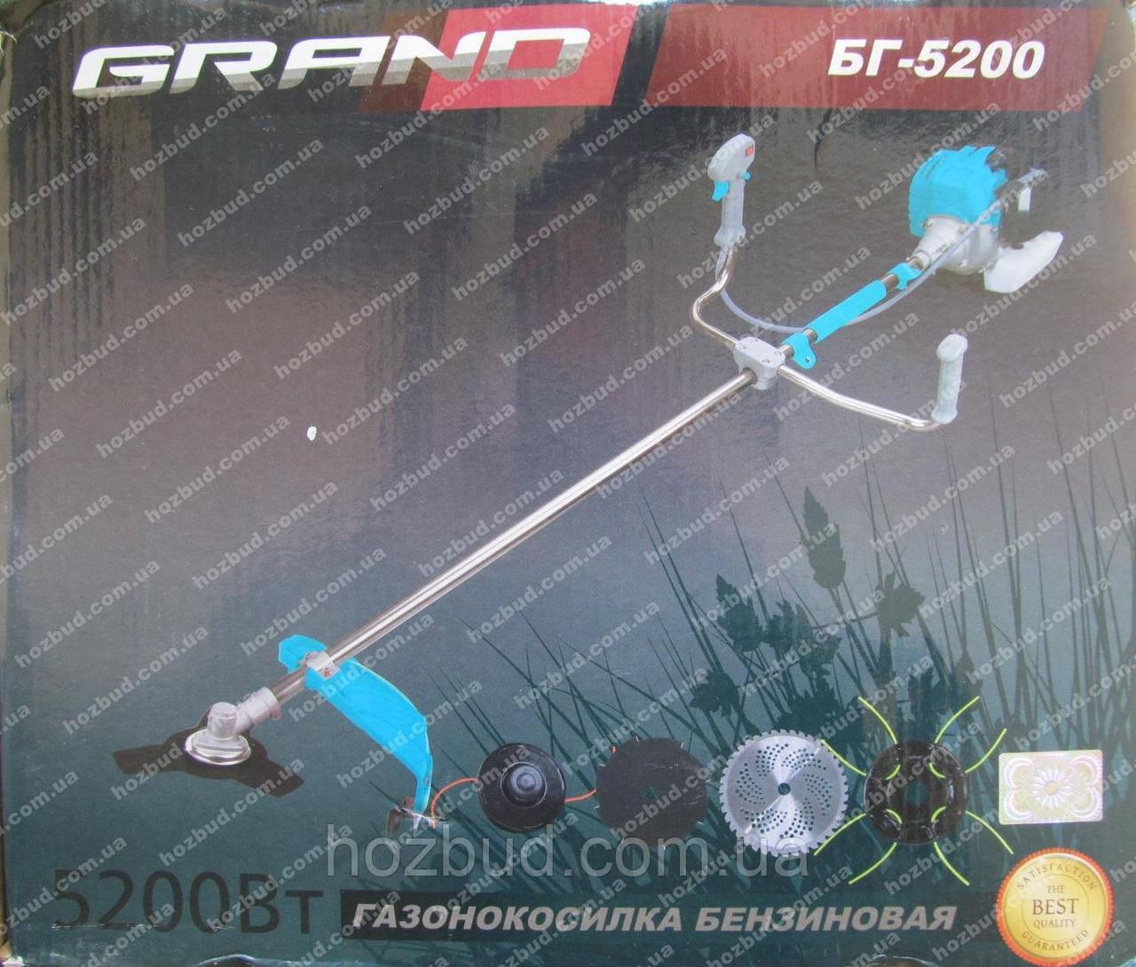 Бензокоса GRAND БГ-5200 (5,2 кВт)