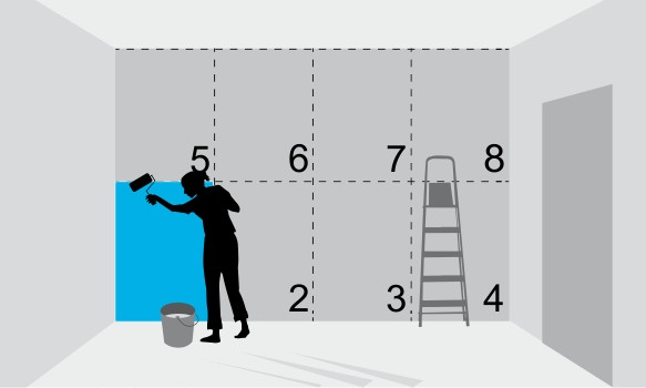 Инструкция по поклейке флизелиновых обоев 4
