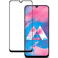 Закаленное защитное 5D стекло ПОЛНАЯ ПРОКЛЕЙКА (на весь экран) для Samsung A705F Galaxy A70 (выбор цвета)