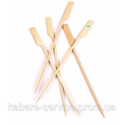 "Шпажка-пика ""Весло"" 18 см (бамбук) 100 шт"