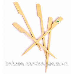 "Шпажка-пика ""Весло"" 12 см (бамбук) 100 шт"