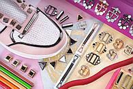 Фурнитура с эмалью для обуви, одежды и кожгалантереи