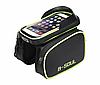 Велосипедная сумка B-Soul, велосумка на раму, для телефона.