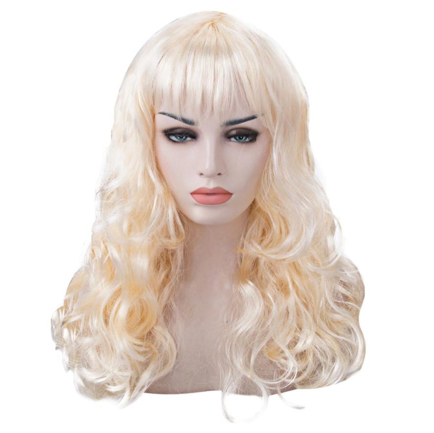 Парик Волнистый (блонд) 60см
