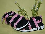 Сандалики для девочки, босоножки на липучках.  Канарейка, фото 6